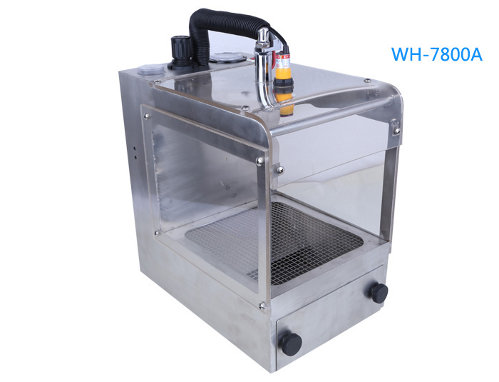 Electrostatic dust collection box
